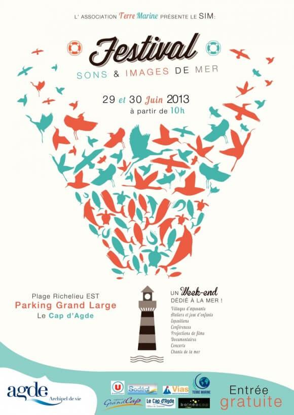 AILERONS présent au festival Sons et Images de Mer ce week-end au Cap d'Agde