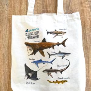 requin tote bag sac