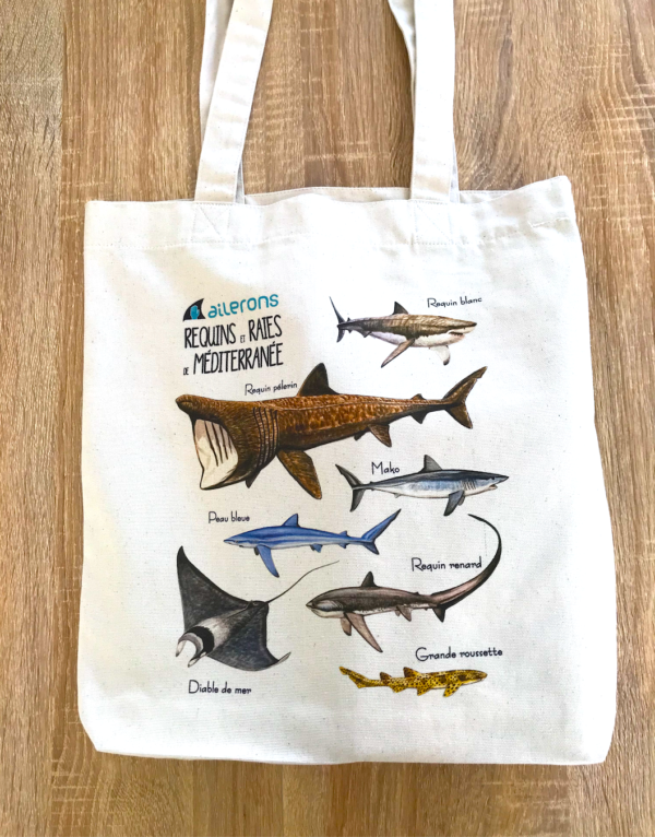requin tote bag sac