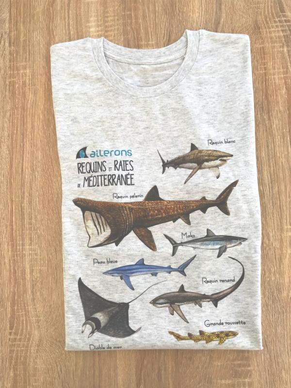 requin dessins tshirt
